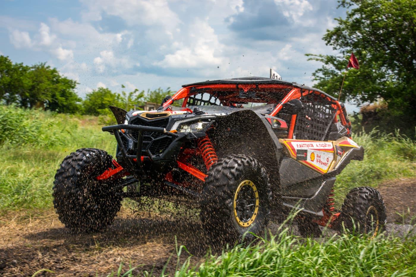 2 этап Can-Am X Race: Марийские леса