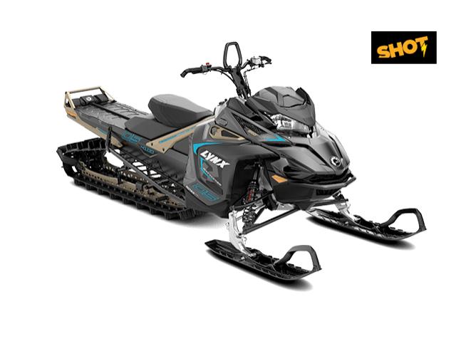BoonDocker DS 4100 850 E-TEC SHOT Black Edition (2019)