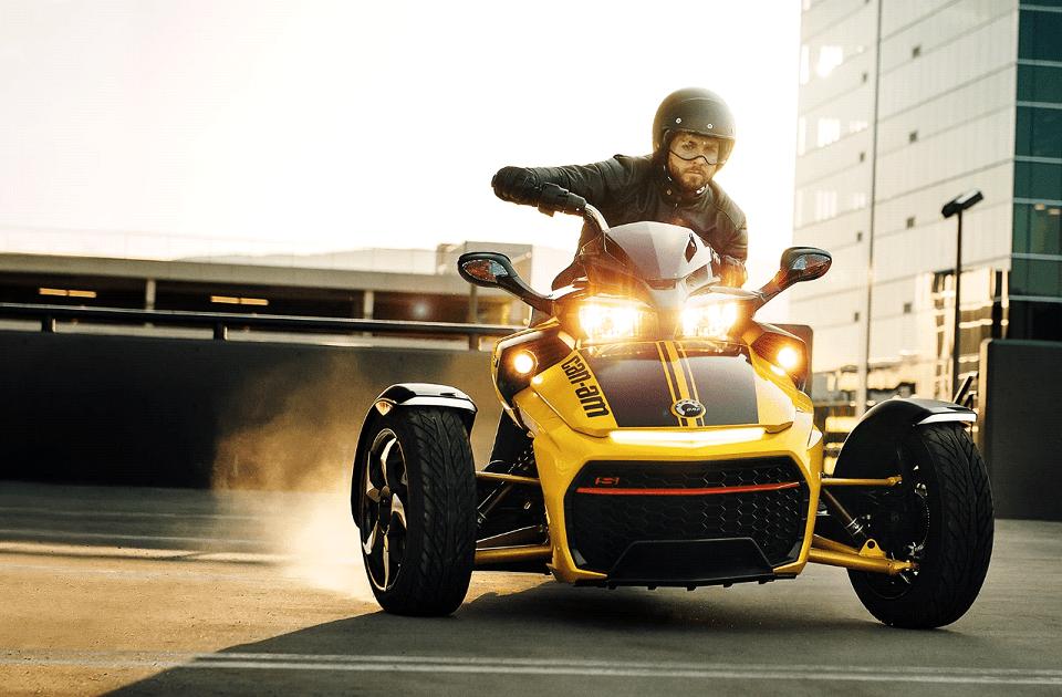 Встречайте эксклюзивный трицикл Can-Am F3-S «DAYTONA 500»