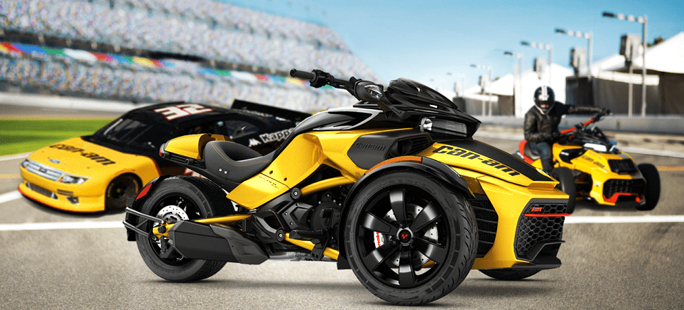 Can-Am Spyder F3-S Daytona 500