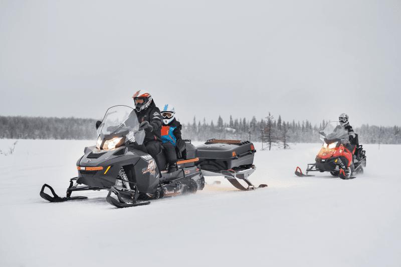 Снегоходы для охоты? Есть!