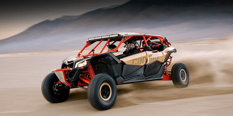 Встречаем новый мотовездеход Maverick X3 MAX