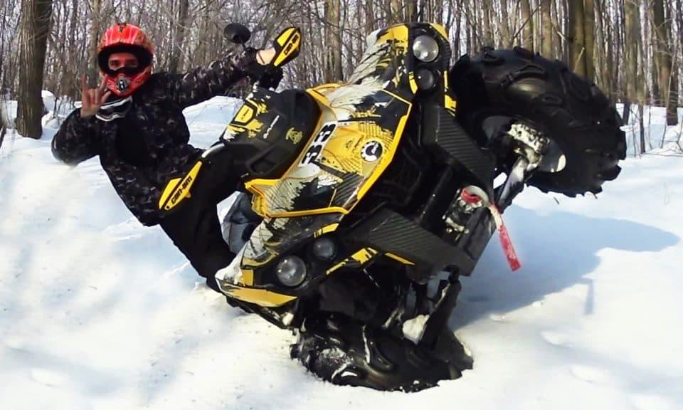 Квадроциклы: можно прокатиться и зимой