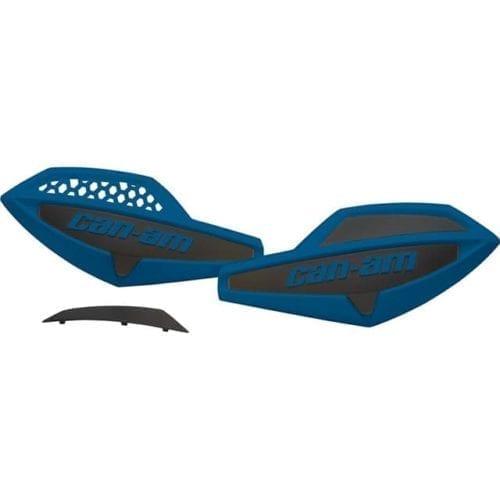 Handlebar Wind Deflectors - Octane Blue / Black
