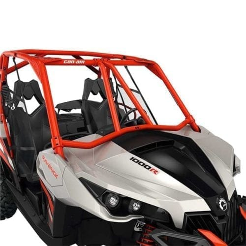 Lonestar Racing Front Intrusion Bar - Can-Am Red