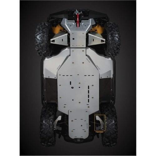 Trailing Arm Protection Commander Стальной рычаг для снегоболотохода