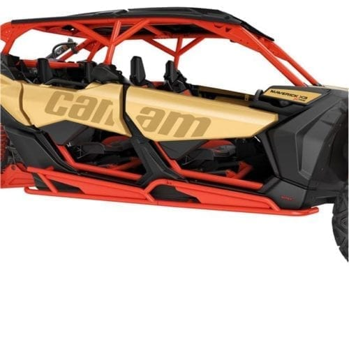 Rock Sliders - Can-Am Red