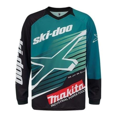 Ski-Doo Warnert Makita Team Race Edition Jersey