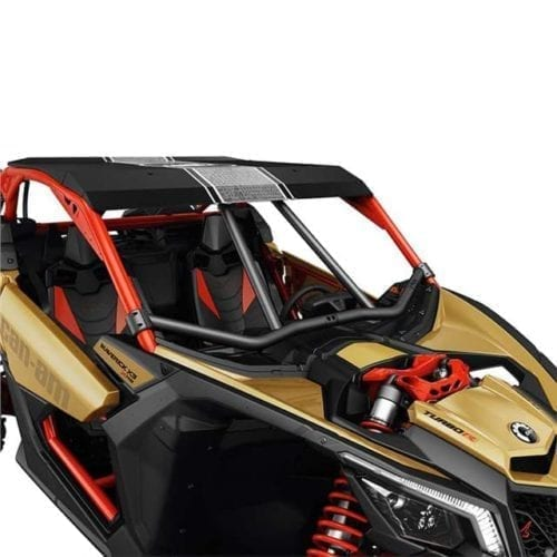 Lonestar Racing Front Intrusion Bar - Black