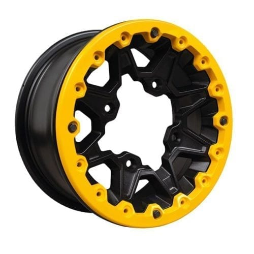 "Rim Beadlocks Maverick / XTP 12"" - Yellow Дисковая пластина на колесо для квадроцикла"