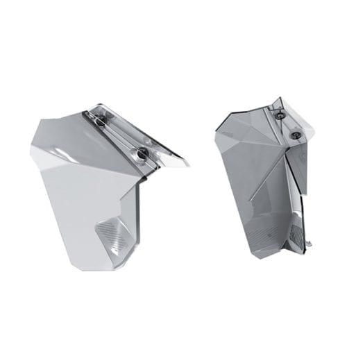 Windshield Side Deflector Kit