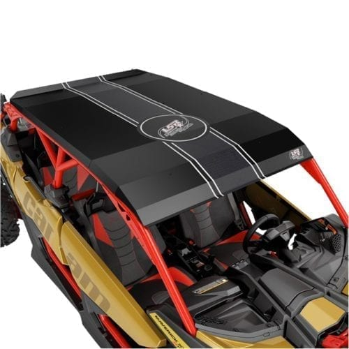 Lonestar Racing Aluminum Roof - Black (with wrap kit)