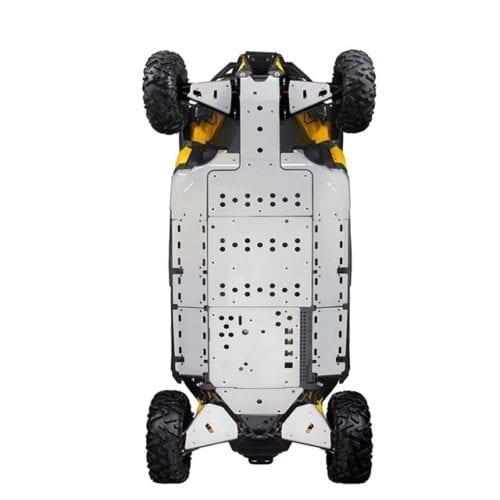Rear  underbelly protection Maverick Защитная пластина корпуса  для квадроцикла