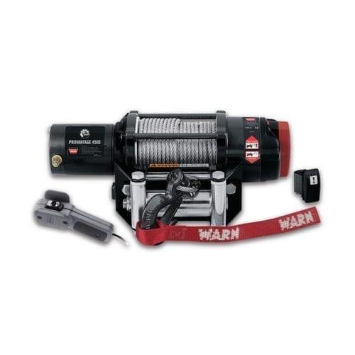 Warn Provantage 4500  winch Maverick, Commander Лебедка электрическая, 12 вольт для снегоболотохода