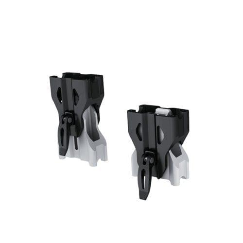 Adjustable Riser for Straight Handlebar - Black/Aluminum