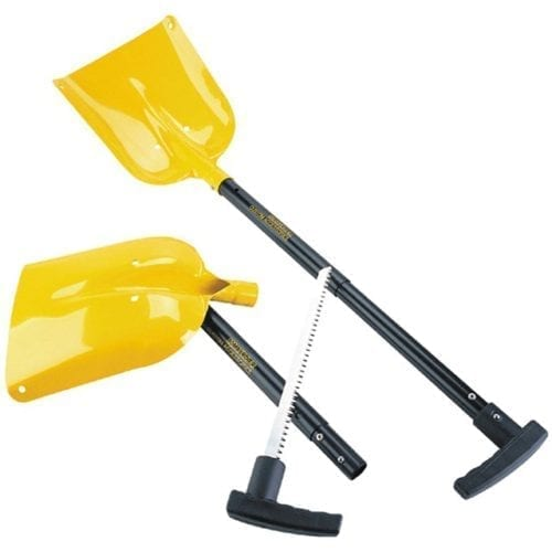 Shovel with saw handle
