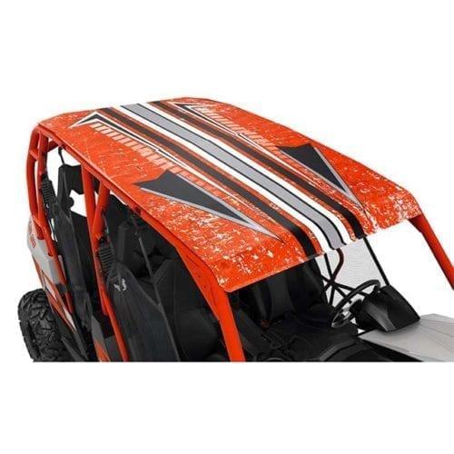 Lonestar Racing Aluminum Roof - Can-Am Red
