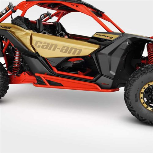 Rock Sliders  Can-Am Red Maverick X3 Силовые пороги Red Maverick X3