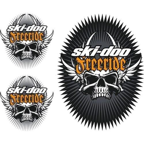 Ski-Doo Freeride Skulls