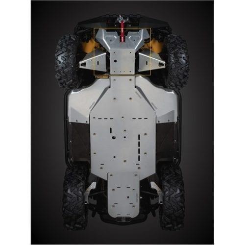 Front underbelly protection Commander Днище кузова, стальное для квадроцикла