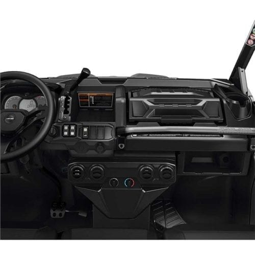 Lower Dashboard for Heating System
