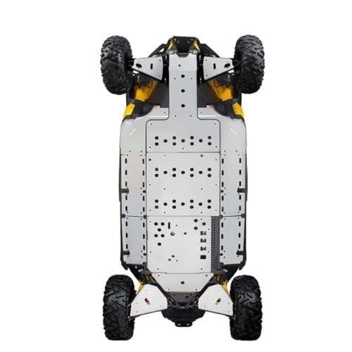 Rear underbelly protection Maverick X DS Задняя защита для квадроцикла