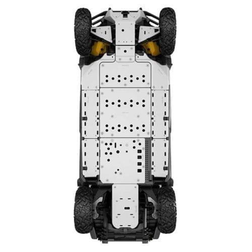 Centrale underbelly protection Commander, Maverick Защитная пластина для квадроцикла