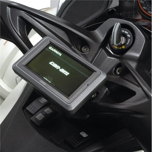 GPS Navigation System with Adjustable Support