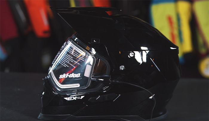 Обзор гибридного шлема Ski-Doo EX–2 Enduro