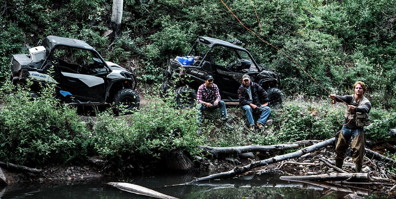 Встречайте новый Maverick Trail в нашем мотосалоне!