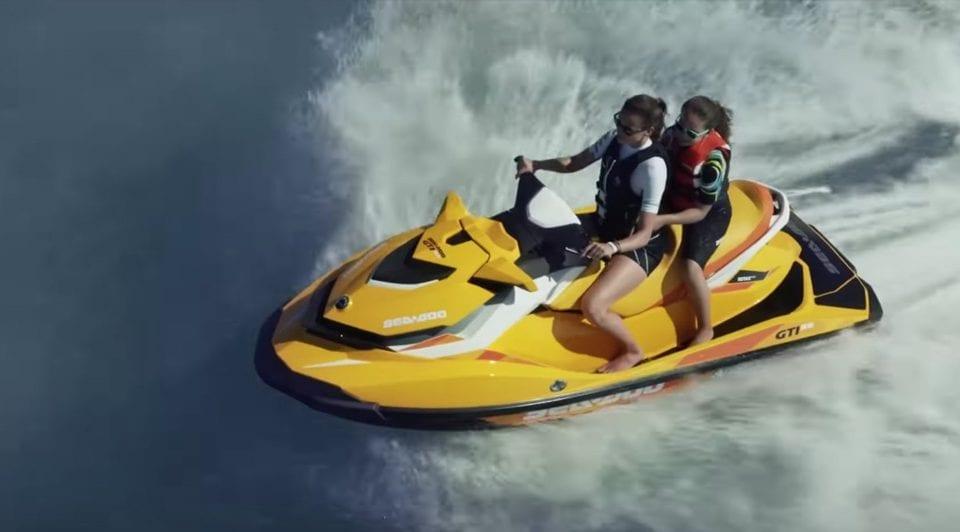 Видео гидроцикла Sea-Doo GTI 90