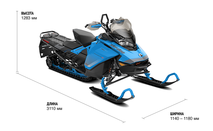 BACKCOUNTRY X 850 E-TEC 146″ (2019)