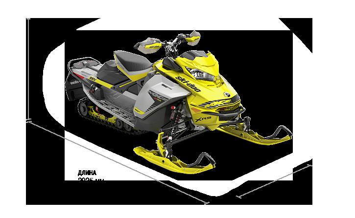 MXZ X-RS 600R E-TEC (2019)