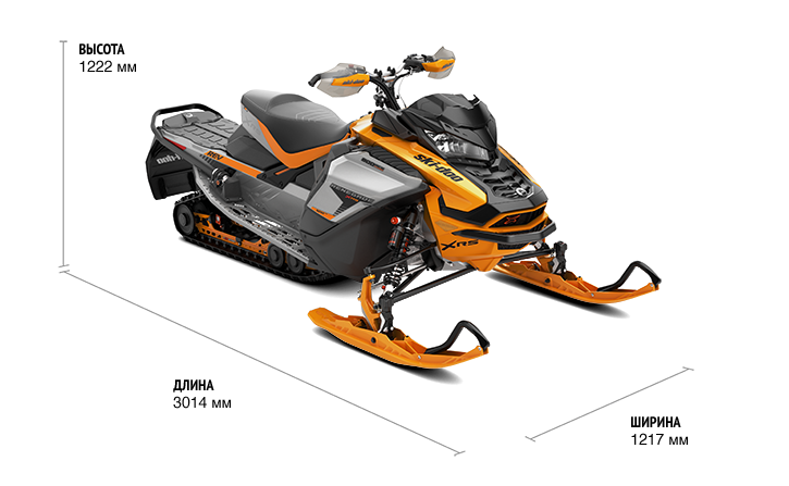 """Renegade X-RS 900 ACE Turbo 137"""" (2019)"""