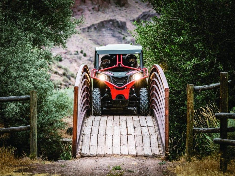 Обзор Can-Am Maverick Trail