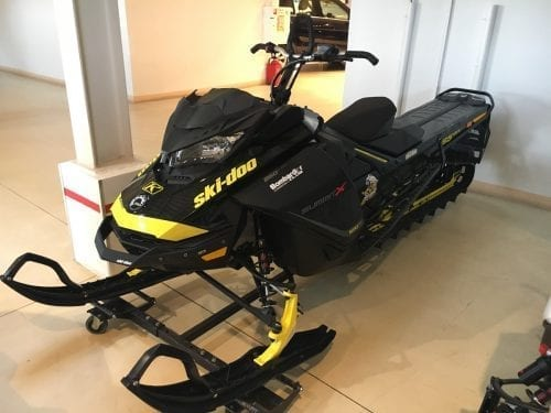 Ski-Doo Summit X 165 с пробегом