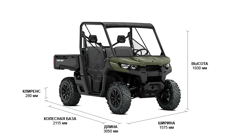 Can-Am TRAXTER HD8 DPS (2020)