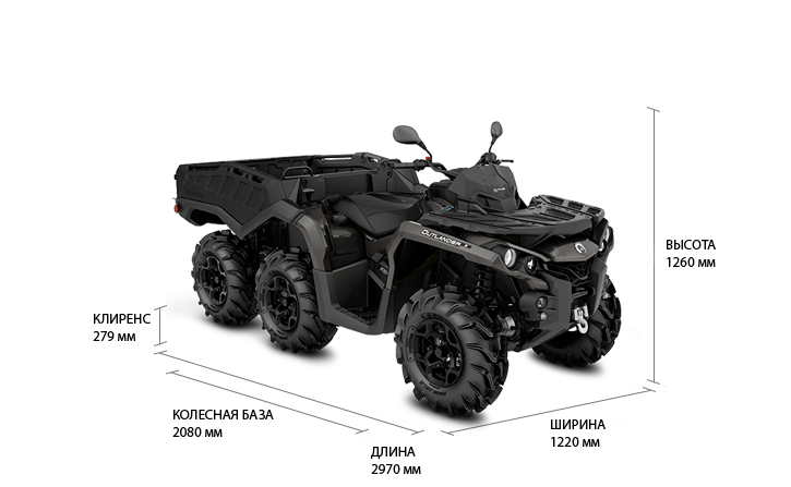 Can-Am Outlander 6x6 1000 PRO (2020)