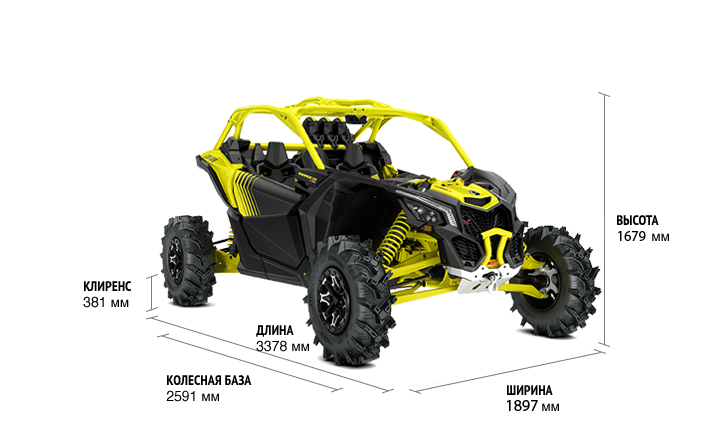 Maverick X3 X MR TURBO R (2019)