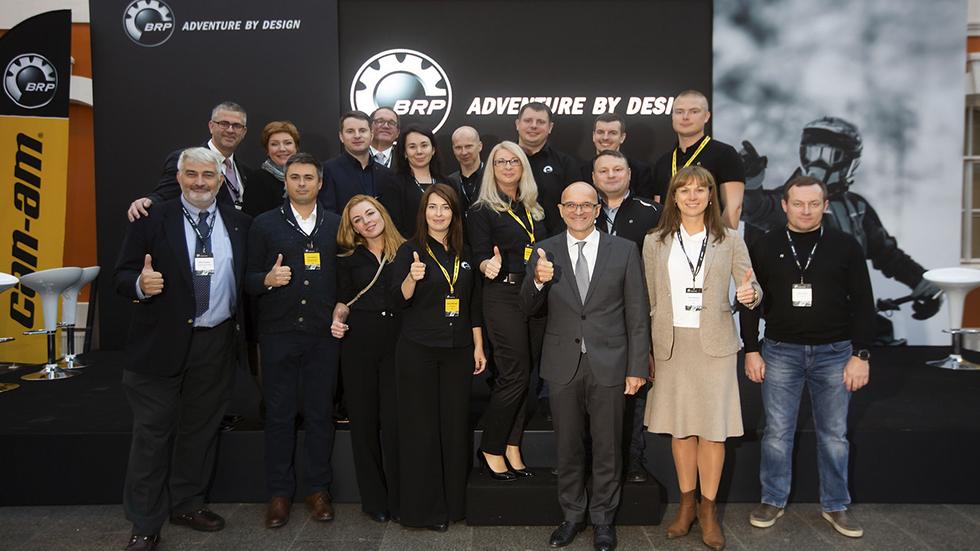 Официальное открытие офиса BRP в России