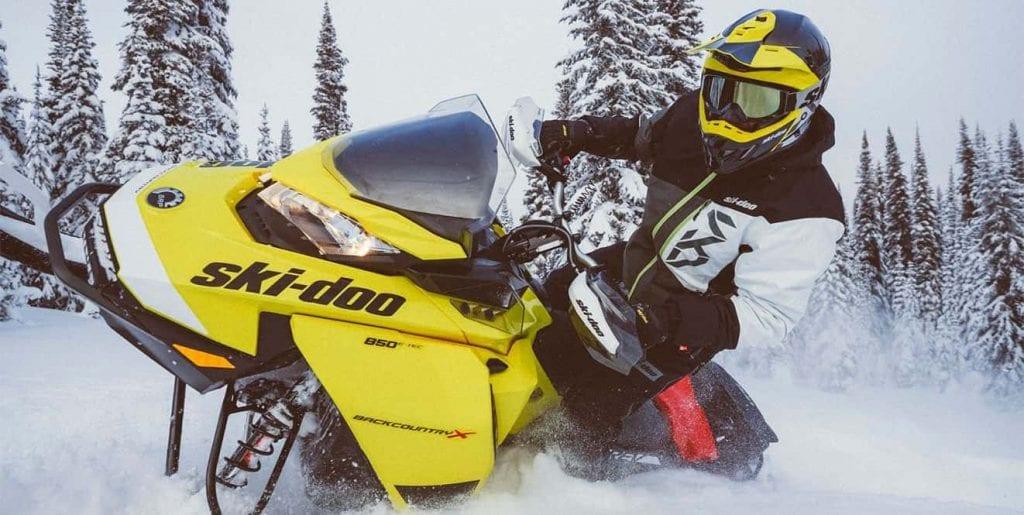 "Ski-Doo Backcountry X 850 E-TEC 146"" (2020)"