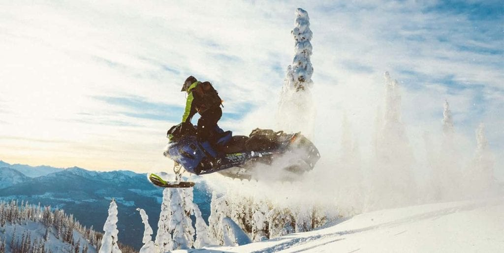 "Ski-Doo Freeride X 850 E-TEC 165"" (2020)"