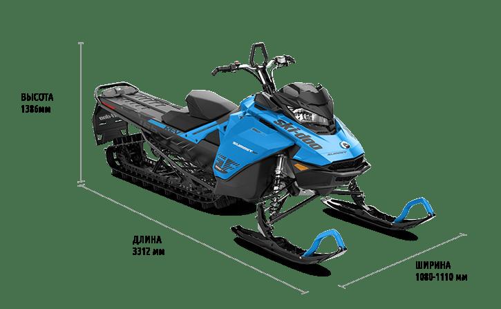 """Ski-Doo Summit SP 600R E-TEC 154"""" (2020)"""