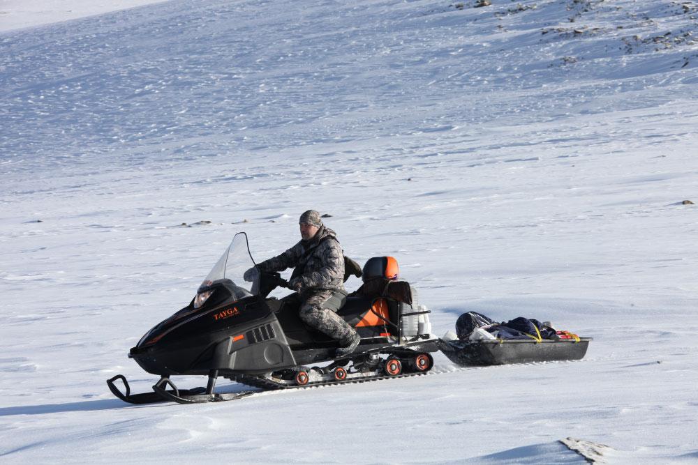 Снегоходы Русская Механика Тайга — вызов самым сложным условиям