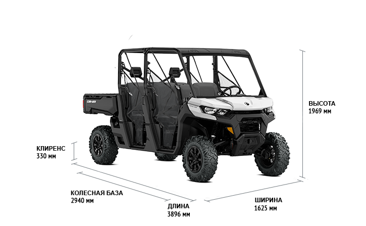 Can-Am TRAXTER MAX HD10 DPS (2020)