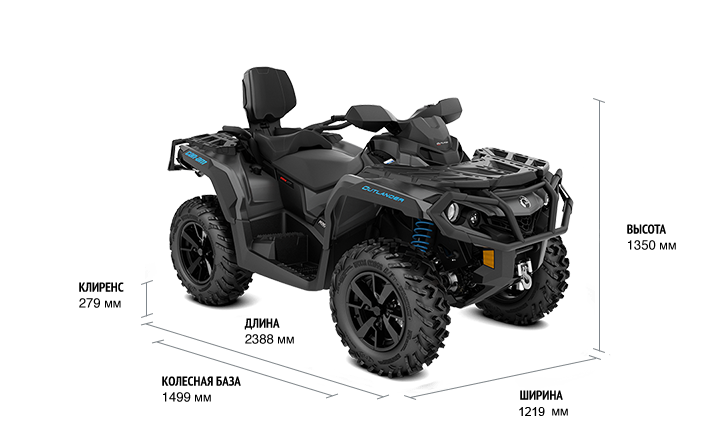 Can-Am Outlander MAX 650 XT (2020)