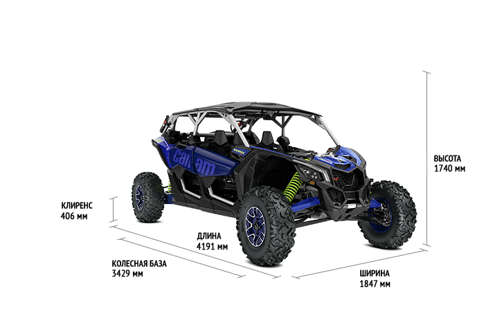 Can-Am Maverick MAX X RS Turbo RR (2020)