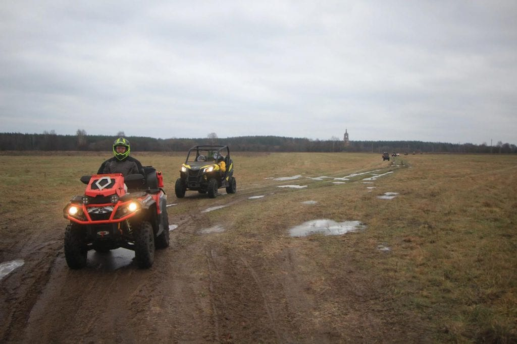 Квадропробег по берегам Киржача. Отчет