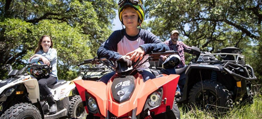 Выбираем квадроцикл для ребенка: краткий обзор детских моделей от Kayo