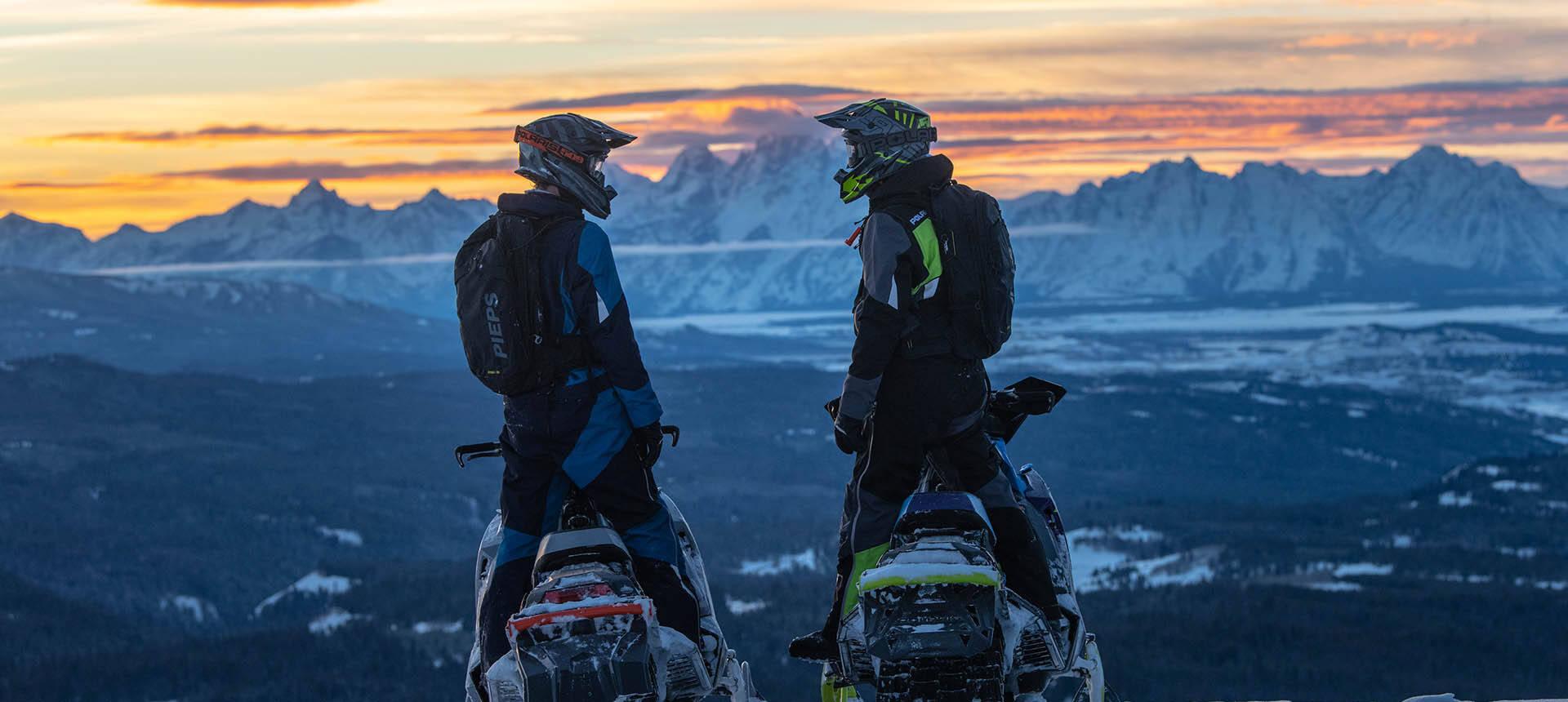 Polaris PRO-RMK: заряженные снегоходы для гор
